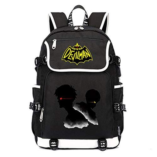 WANHONGYUE DEVILMAN Crybaby Anime Cosplay Schoolbag Rucksack 15.6