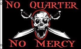 NEOPlex Pirate No Quarter No Mercy Traditional Flag