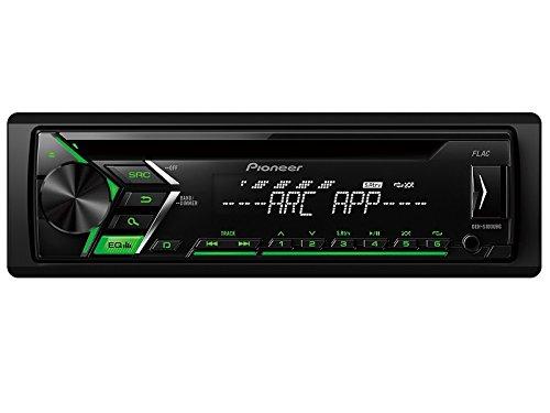 Pioneer Radio dehs100ubg 1DIN USB Verde con kit di installazione per Honda Civic VII (EP, EU, EV1, ES, EM2Face Lift)