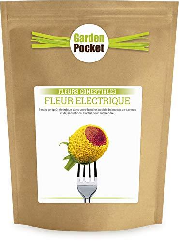 Garden Pocket - Fleurs Comestibles FLEUR ELECTRIQUE - Sac de pot de fleur