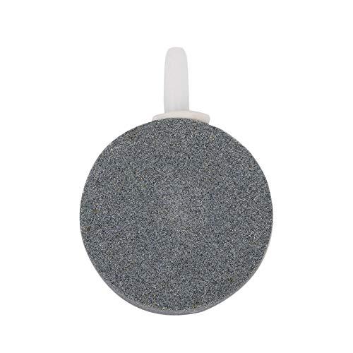 Bomba de Estanque de 40 mm Hidroponía Aire Piedra Disco de Burbuja Aireador Acuario Pecera Accesorios útiles para pecera (Color: Gris)