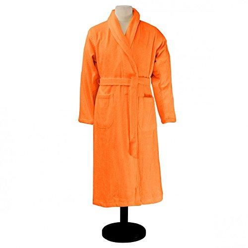 Essix - Peignoir de bain Aqua Coton Mandarine Taille M