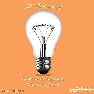 The Genius of Generosity audiobook cover art