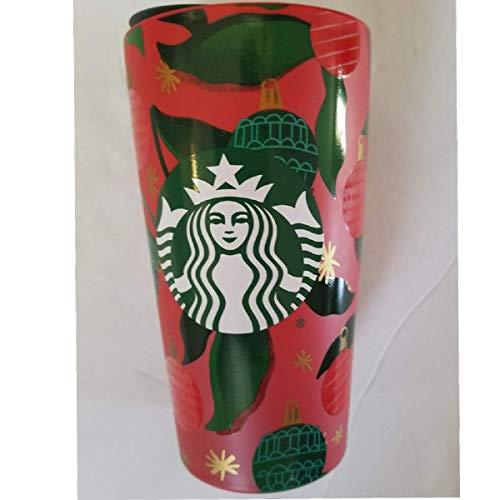 Starbucks Limited Edition Keramik-Reisebecher Weihnachten 2019, 340 ml