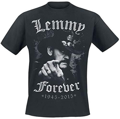 Global Merchandising Services Ltd Motörhead Lemmy - Forever Männer T-Shirt schwarz M 100% Baumwolle Band-Merch, Bands