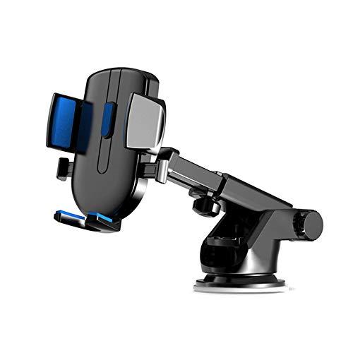 Montaje del teléfono del coche, stand universal 360DEG;Rotación multiclorante, plegable, telescópica, el soporte se puede ampliar y extender para teléfonos móviles con un ancho de 66 mm-84mm, negro SO