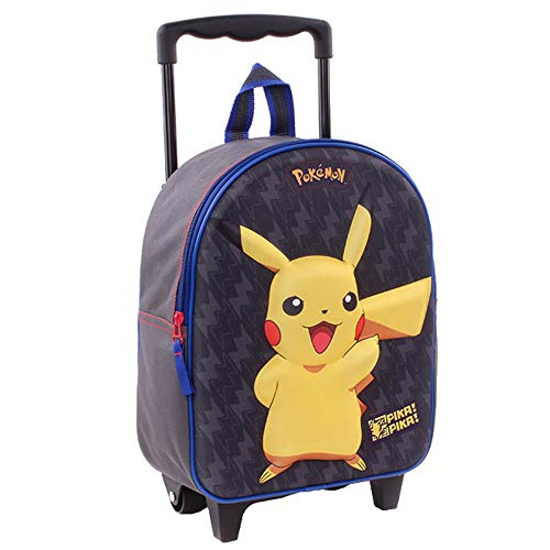 Vadobag Pokemon Schul-Trolley Pika Pikachu