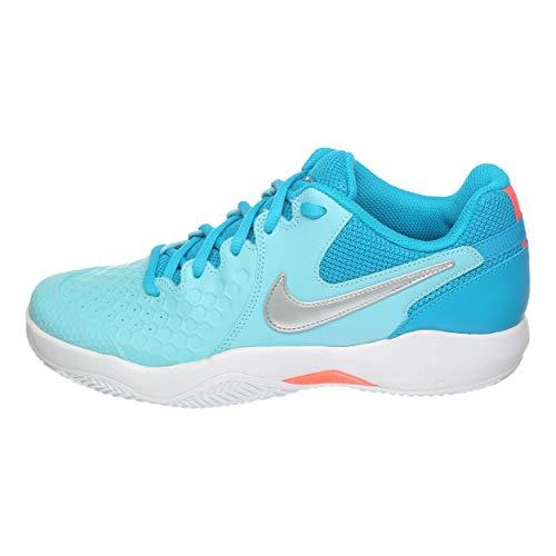 Nike Air Zoom Resistance Cly - Zapatillas de tenis para mujer (talla 41, UK 7, US 8, cm, 26 cm)