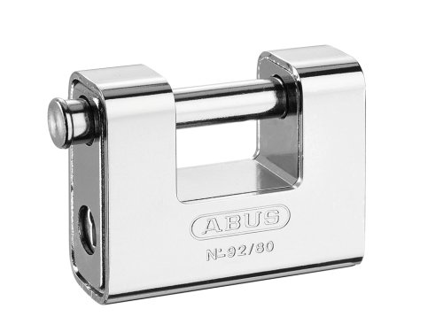 Abus 92/80 B - Candado Monoblock rectangular blindado 80mm