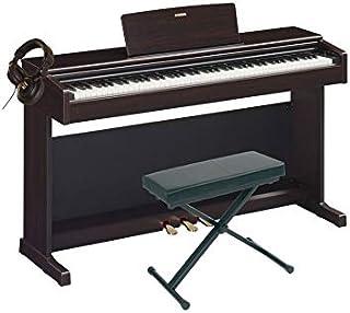 Pack Yamaha YDP-144 Rosewood - Piano digital + asiento + casco