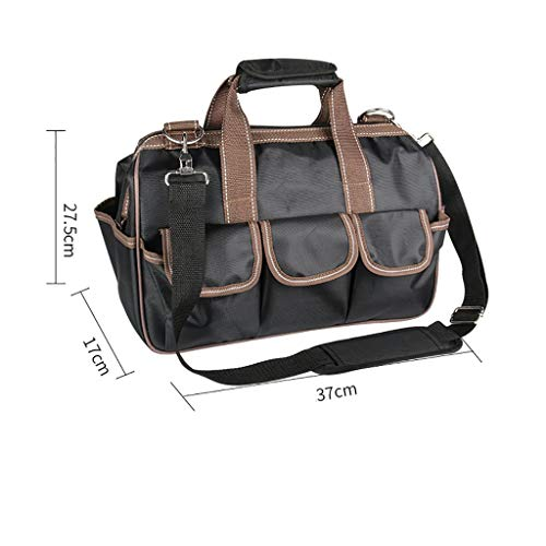 Best Bargain Lovela Tool Bag Canvas Thick Multi-Function Appliance Repair Kit Shoulder Thick Electri...
