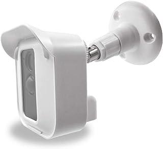 Hard Case w/Mount Bracket for Blink XT 2 Camera (White 1 pcs) - Blink XT Covers w/Glare-reducing Hood - Indoor Outdoor Bli...