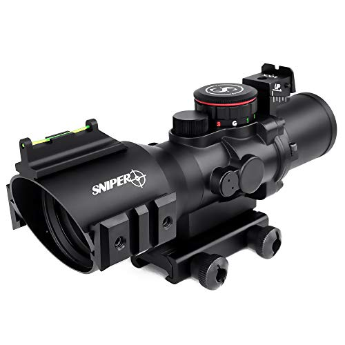 PM3.5X40CB, Prism Scope,Prismatic Rifle Scope, Long Eye Relief, Wide Angle