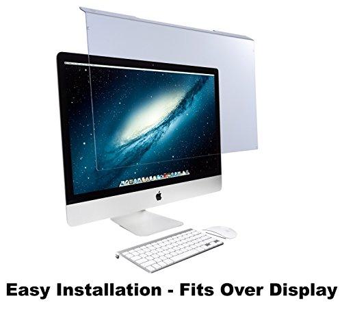 EYES PC Blue Light Screen Protector Panel for Apple iMac 21.5 Diagonal LED Monitor (W 20.63 X H 12.56