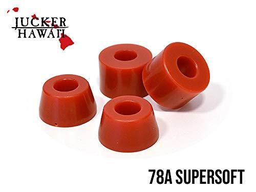 JUCKER HAWAII Longboard Bushings/Lenkgummis 78A Rot Super Soft
