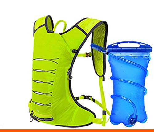 Pack de hidratación de 3 l para ciclismo, mochila impermeable para camping, senderismo, bolsa de agua de 3 l con bolsa de agua de TPU add3LWaterbag
