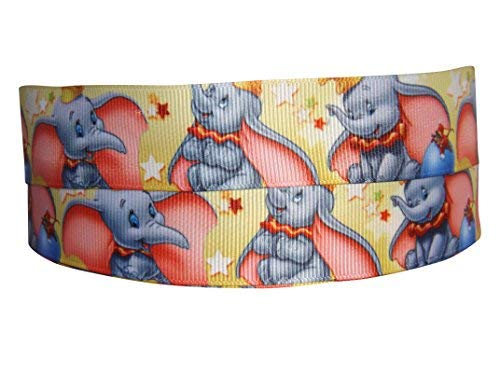 'Pimp My Shoes – Rollo de cinta (grogrén, diseño a 'Disney Dumbo, 2 m x 22 mm, ideal para regalos/tartas