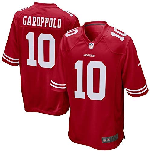 c02a522d7 Outerstuff Youth Jimmy Garoppolo  10 San Francisco 49ers Game Jersey –  Scarlet S