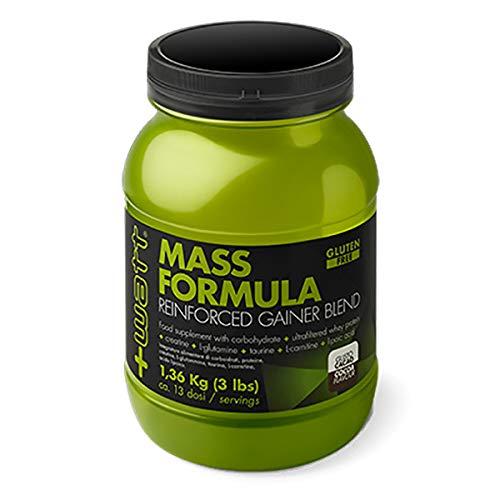 MASS FORMULA 1,36kg (Gusto: Cacao) +WATT Integratori