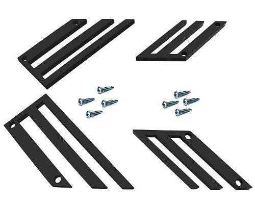 Ultra-Grip Einsätze ODF TC-Line schwarz für 4er Set für Gilera Runner 200 VXR 4T LC 06-08 ZAPM462