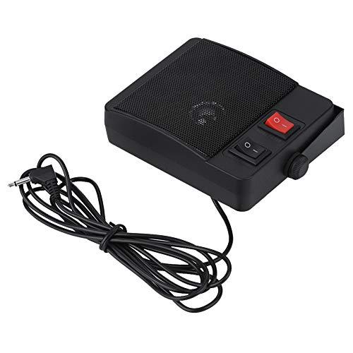 Zerone Mini Walkie Talkie Externer Lautsprecher 11 Watt Geräuschunterdrückung Externe CB Scanner Lautsprecher Für YAESU