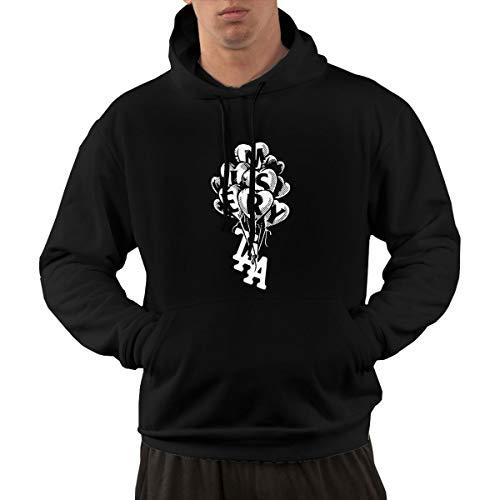 The Amity Affliction Misery Men's Essential Hoodie Pocket Sweatshirt Man Clothing Black