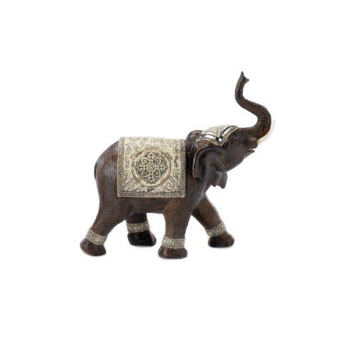 Pajoma - Éléphant Décoratif - Couleur Foncée - 15 Cm
