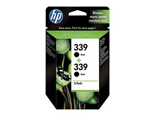 HP - Hewlett Packard DeskJet 6830 V (339 / C 9504 EE) - original - 2 x Druckkopf schwarz - 860 Seiten - 21ml