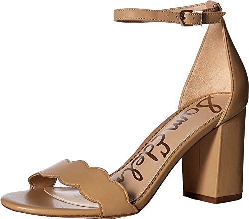 Sam Edelman Women's Odila Classic Heeled Sandal, Soft Beige, 7 Medium US