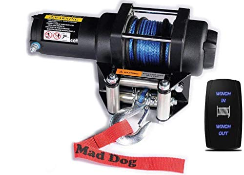 Buy Mad Dog 2500lb Winch Mount Combo w/Synthetic Rope Polaris 2011-2014 Diesel Ranger (900)/ Ranger ...