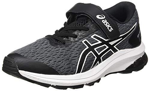 ASICS Unisex-Child GT-1000 9 Running Shoe, Metropolis/Black,32.5 EU
