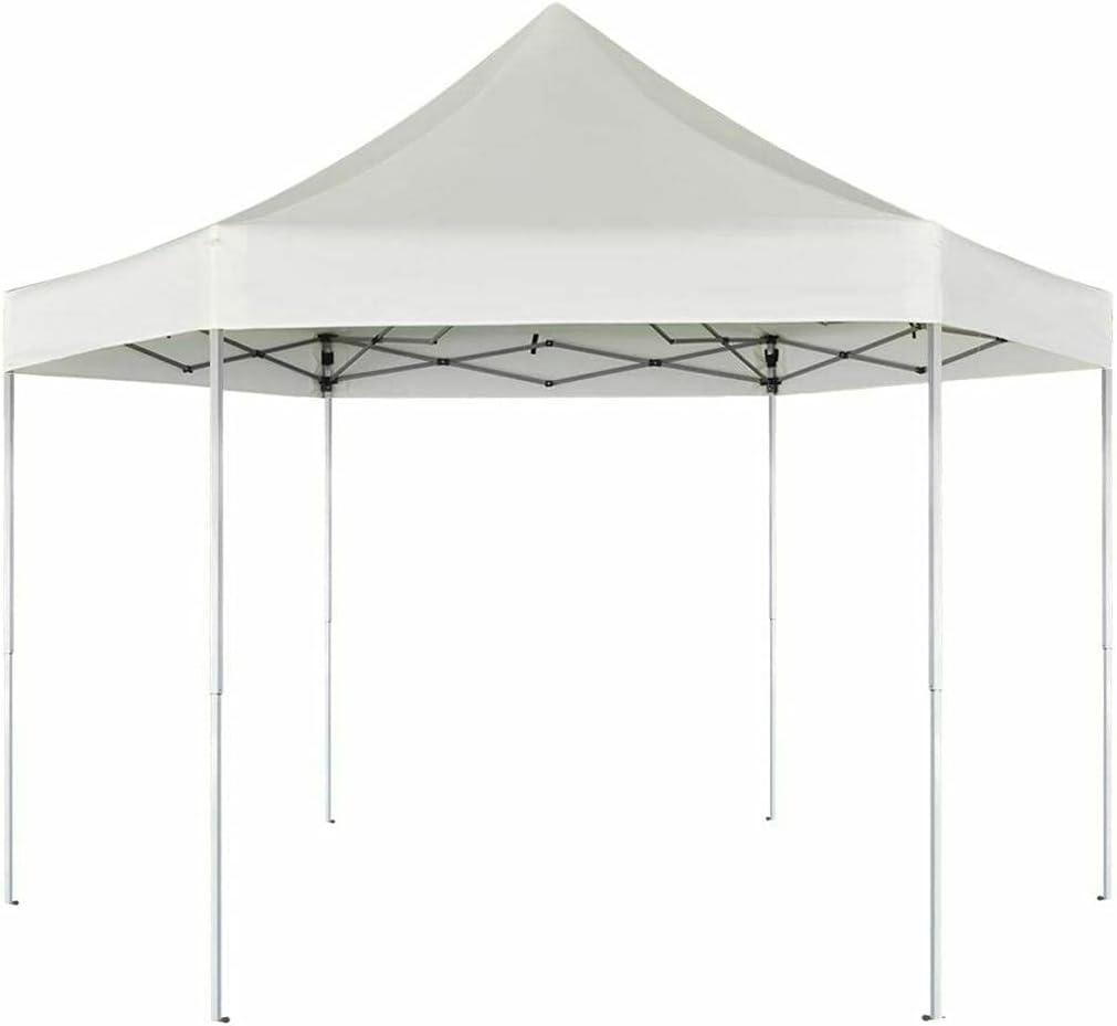 Be super welcome Hexagonal Max 42% OFF Pop-Up Outdoor Garden Steel Marquee Gazebo Party Tent
