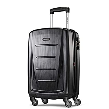 Samsonite Winfield 2 Hardside 20  Luggage, Brushed Anthracite
