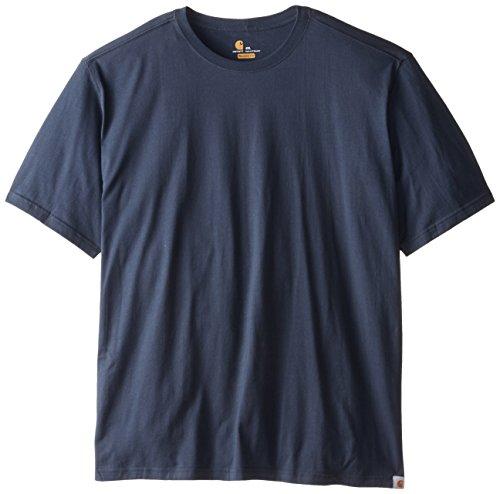 Carhartt pour homme Big & Tall Maddock non Poche à manches courtes pour homme, L, bleu marine, 1