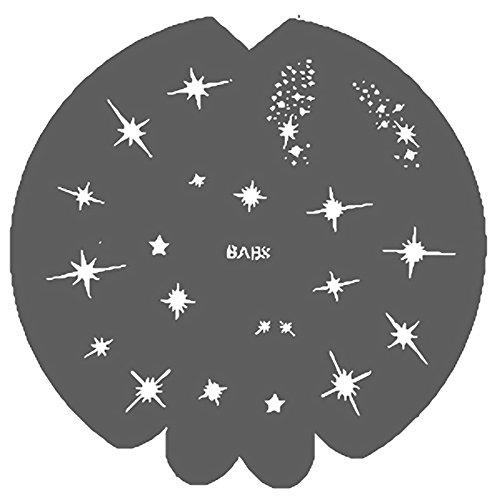 Mystical Sterne, Airbrush-Schablone Cosmos BAB8