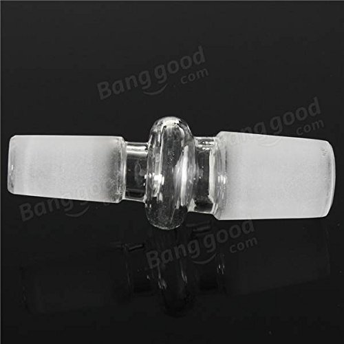 Doradus 18mm Male To 14mm Male Clear Glass Reducer Adapter Connector