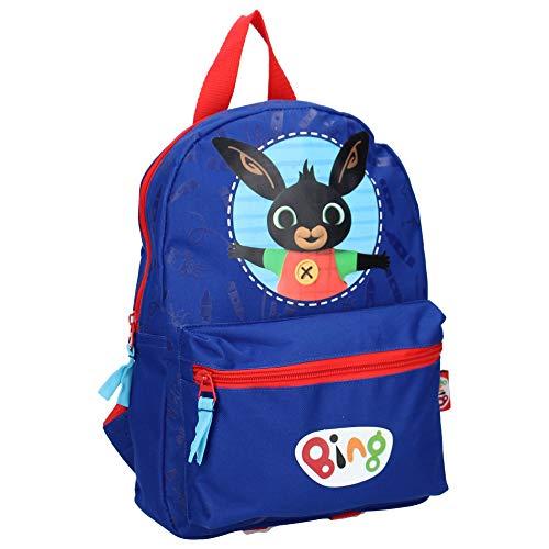 Bing rugzak voor kinderen, konijn, zwart, blauw