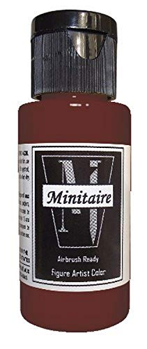 Badger Air-Brush Company Miniature Airbrush Ready Water Based Acrylic Paint Bottle, 2-Ounce, Blood Stain Mud