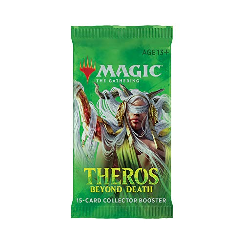 Magic: The Gathering Theros Beyond Death Collector Booster | 15 Card Booster Pack | Special Collectible Cards