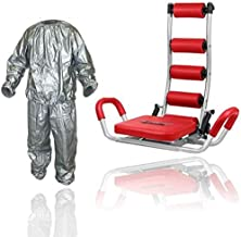 Ab Rocket Twister Abdominal Trainer Red With PVC Sauna Suit