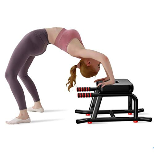 Kays Double Armrests Headstand Stool Yoga Inversion Chair Household Inverted Aid Steel...