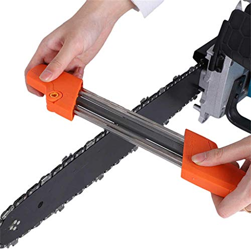 Lolphin 2 in 1 Easy File Chainsaw Chain Sharpener for 3/8