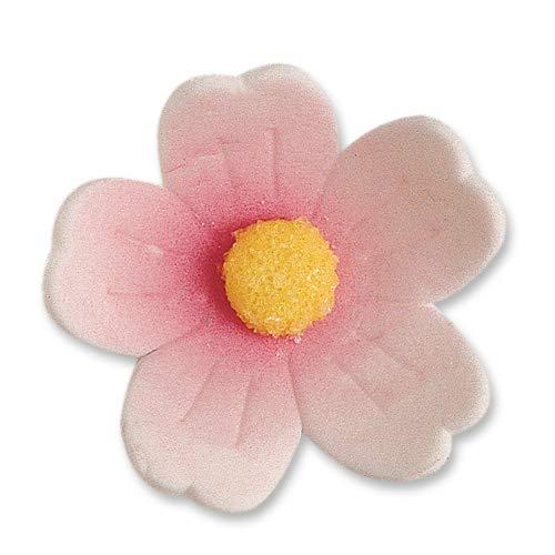 Günthart 2382 Feinzucker-Blumen, gross, rosa, 60 stk (1 x 242 g)