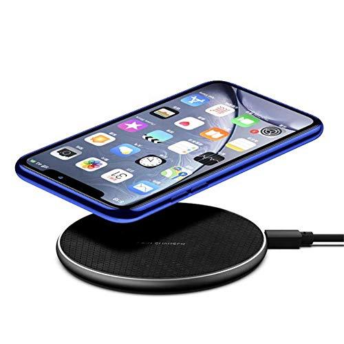 Qi almohadilla de carga inalámbrica, 10W-Magsafe base de carga rápida para teléfono celular Samsung iPhone Android