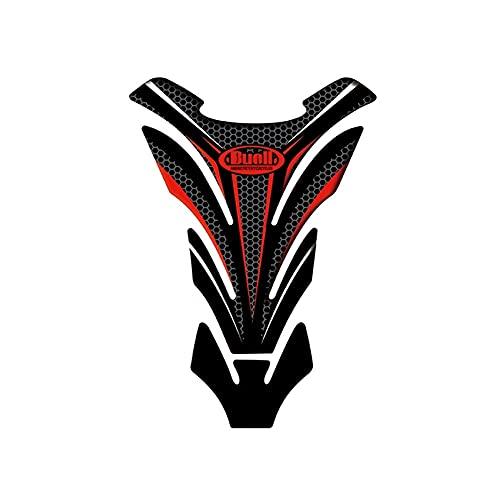 Protector DE Tanque Moto para Buell 1125R 1125CR XB12R XB12Ss XB12Scg Almohadilla Protectora para Tanque de Aceite de Motocicleta Cubierta Protectora Pegatina Universal Calcomanías de Motociclismo