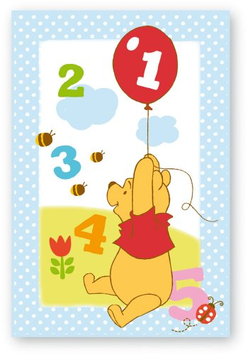 Fun House - 711860 - Ameublement Et Décoration - Winnie - Tapis Nombres