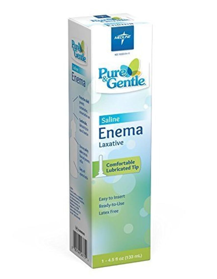 Medline Curad Disposable Saline Enema, 24 Count, 4.5 Fl Oz