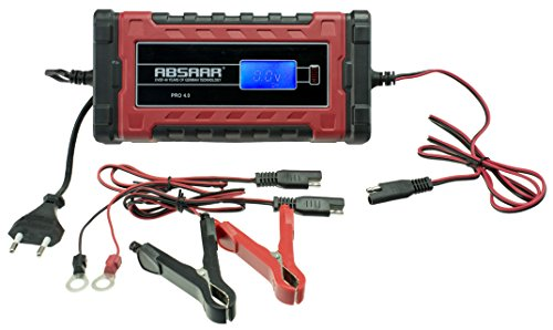 Absaar 062078 Pro Batterieladegerät, 6/12 V