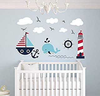 Little Man Cave Arrow Decal Vinyl Wall Sticker For Kids Nursery Room Modern Wall Art Home Decor For Bedroom 56x30cm Nursery Nursery Decor