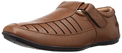BATA Men's Cedar Tan Fisherman Sandals-9 UK (43 EU) (8613651)